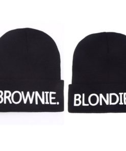 Bonnets blonde brune