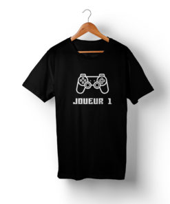 T-shirt assortis Famille Gamer (1)