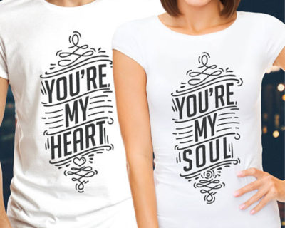 t-shirt-couple-youre-my-heart-youre-my-soul