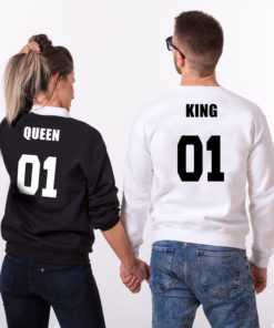"Sweat couple ""King Queen"" mod6"