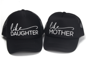 casquettes assortis Comme ma maman - Comme ma fille