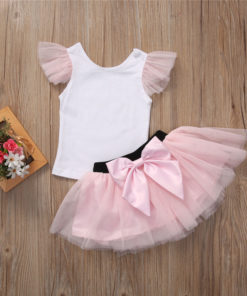 Robes assortis mère fille tutu rose
