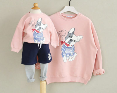 Sweat assortis mère fille – Dog