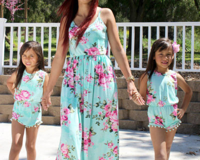 Robes assortis – Mère Fille – Hippy Chik