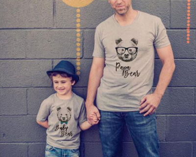 Tee-shirt – assortis Famille – Bear