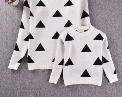 Sweat assortis mère fille – Triangle
