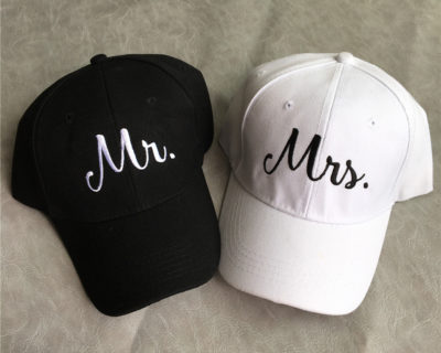 Casquette Couple – MR MRS