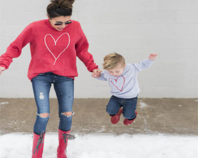 Sweat assortis mère fils – Love