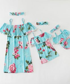 Robes assortis - Mère Fille - Florablue (1)