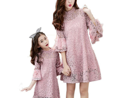 Robes assortis – Mère Fille – V-TREE