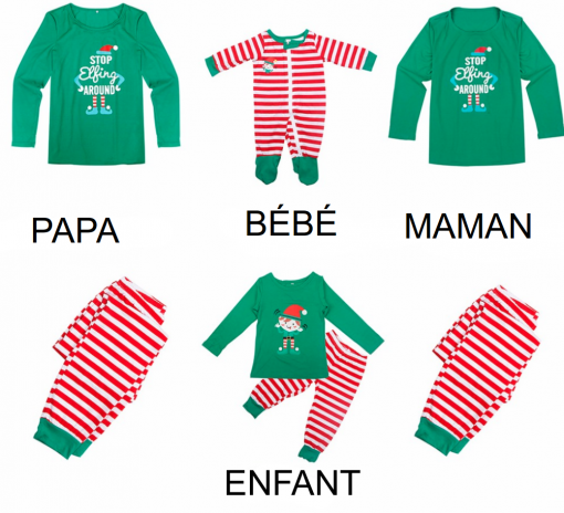 Vetements assortis parents enfants