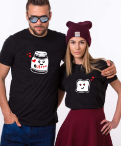 t-shirt couple - Nutella tartine 3