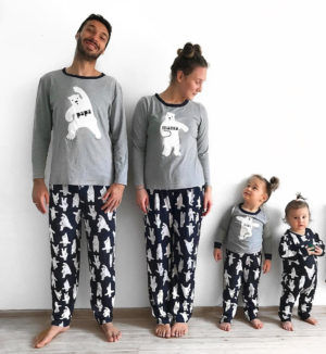 pyjamas famille - Ours polaire