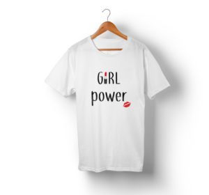 t-shirt assortis - Girl power ! F