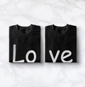 Sweat couple – Amour BLANC