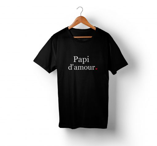 T-shirt famille - famille d'amour (1)
